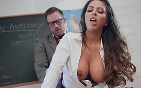 Brazzers - Big Tits at Motor coach - (Roxxy Lea, Freddy Flavas) - Trailer preview