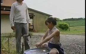 japanese mature housewife cheats connected with lewd man in the warehouse