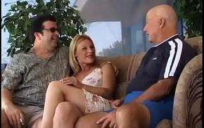 Blonde Wife Loopings Into Swinger