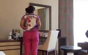 Shy Indian Bhabhi In Hotel Room With Her Newly Seconded Husband Honeymoon