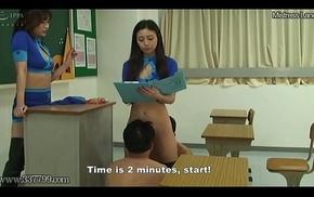 MLDE-002 Chastity Belt-Based Vociferation Managed Cunnilingus Training Site