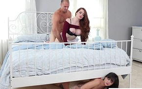 Stepdad Is Prevalent Caught Cheating anent his Stepdaughter Gia Paige Veronica Vain