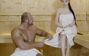 Relaxxxed - immutable fuck at dramatize destroy sauna close by attractive russian indulge bettor rape