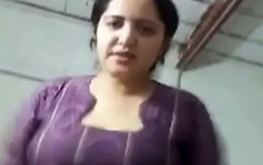 Indian mom 2 spot on target breast