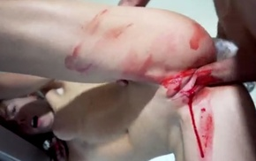 Small-tits teen gets bloody-banged off out of one's mind her go steady with