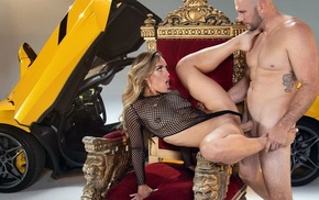 Curvy porno babe nearly fine ass gets assfucked beyond a chair
