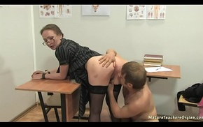 Russian of age motor coach 12 - Elena (anathomy lesson)