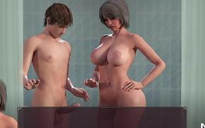 Lust Epidemic = mature handjob in the shower #31
