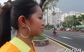 Oriental oral and jock ride