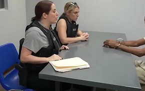 Sexy MILF Bitches in Cop'_s Unchangeable Blacktitution-sting-takes-pervert-off-the-str